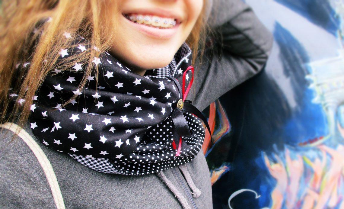 Näh it yourself: Wir nähen unseren ersten Loop-Schal - Simply Jaimee