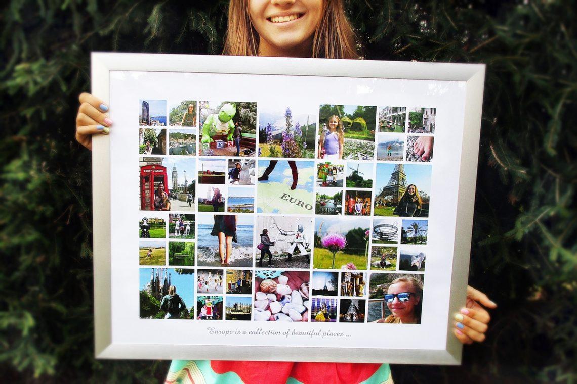 Stilvolle Fotocollagen ganz einfach online erstellen mit ...