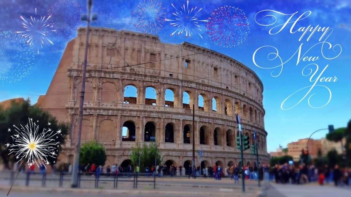 Felice Anno Nuovo 2019 Unser Silvester In Rom Simply Jaimee