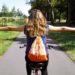 Unser neues Hobby: Aimees allererstes Nähprojekt: Ein fruchtiger Turnbeutel
